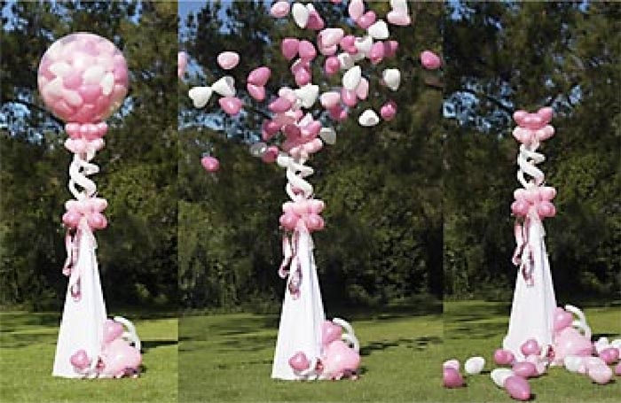 wedding decoration with balloons images wedding dress. Black Bedroom Furniture Sets. Home Design Ideas